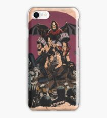 Horror punk band tribute - dark iPhone Case/Skin