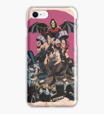 Horror punk band tribute - light iPhone Case/Skin