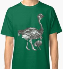 Mother and Chick Cyclostrich Classic T-Shirt