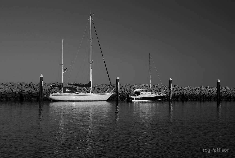 Boats at Redcliffe by TroyPattison
