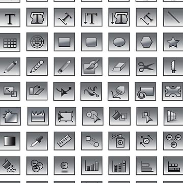 Adobe Illustrator Tools Graphic Designer  by CroDesign