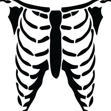 Skeleton Ribs by Lavenna