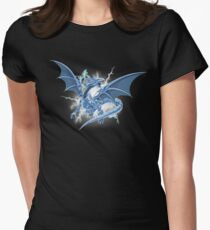 Almighty Dragon Women's Fitted T-Shirt