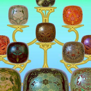 M3D: Gemstones on Display (G0914) by barrowda