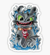 Toothless How To Train Your Dragon Sticker