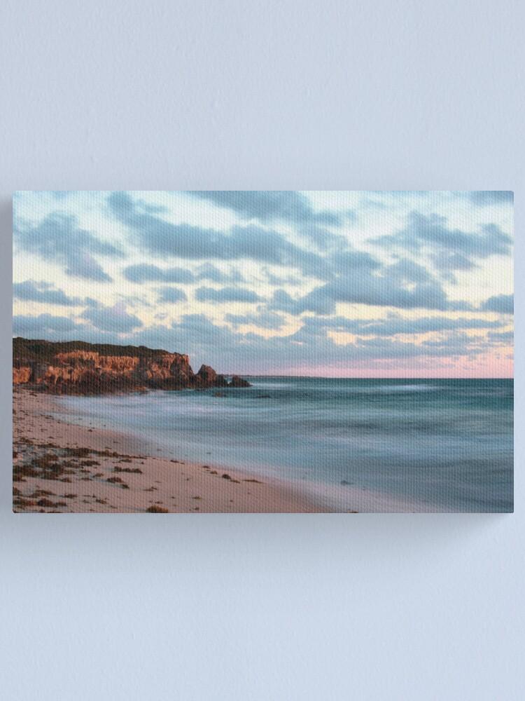 Alternate view of Cliffs at Burns Beach Canvas Print