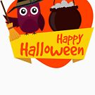 Spooky Halloween Owl for Babies and Kids! by Banshee-Apps