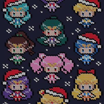 A Merry Senshi Christmas by GillesBone