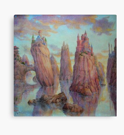 Requiem to Cultural Divergence Canvas Print