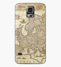 Old Map #2 Case/Skin for Samsung Galaxy