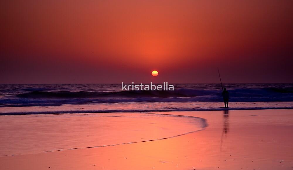 Beach Sunrise by kristabella