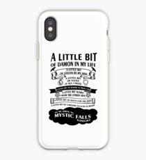 A Little bit of Damon iPhone Case