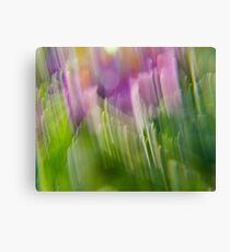 Colorful Strokes 4 (Awake) Canvas Print