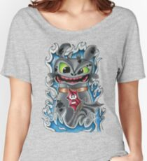 Toothless How To Train Your Dragon Women's Relaxed Fit T-Shirt
