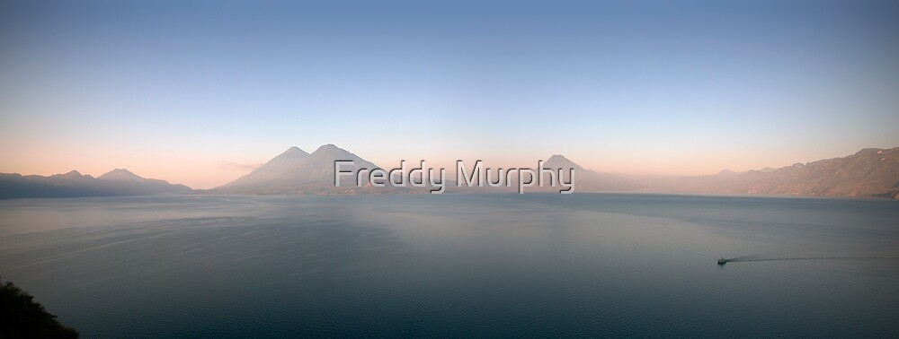 Panoramic Atitlán by Freddy Murphy