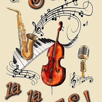 Jazz La La Lives by TMEubanks