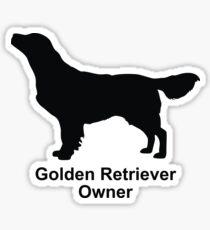 Golden Retriever Dog Owner Lover Sticker