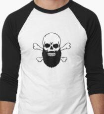 Bearded Skull Men's Baseball ¾ T-Shirt