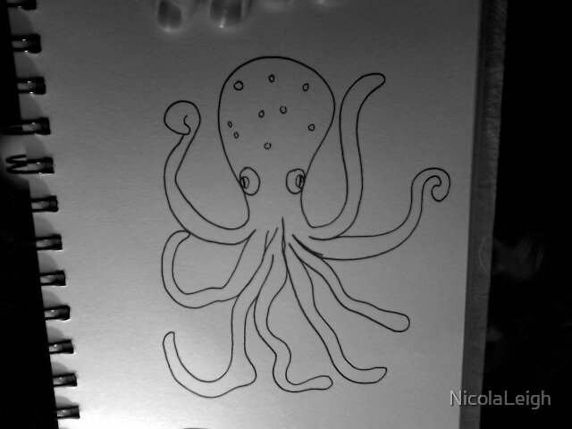 Ozzie the octopus three by NicolaLeigh
