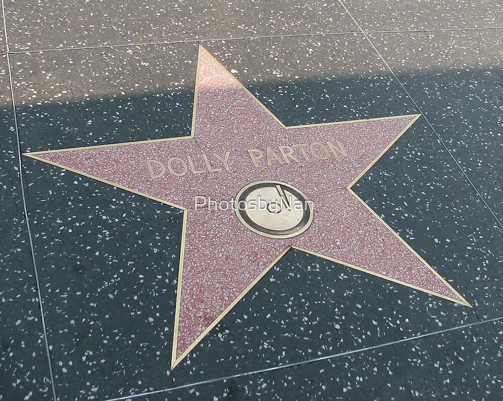 Dolly Parton's Star by PhotosbyNan