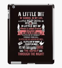 A little bit of... Funny Parody Song iPad Case/Skin