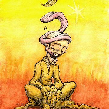 """""""Coca Leaf"""" Illustration by darcyjwatt"""