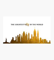 Hamilton: greatest city in the world Photographic Print