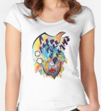 Coldplay - A Head Full Of Dreams Women's Fitted Scoop T-Shirt