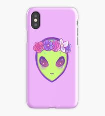 cool alien iPhone Case/Skin