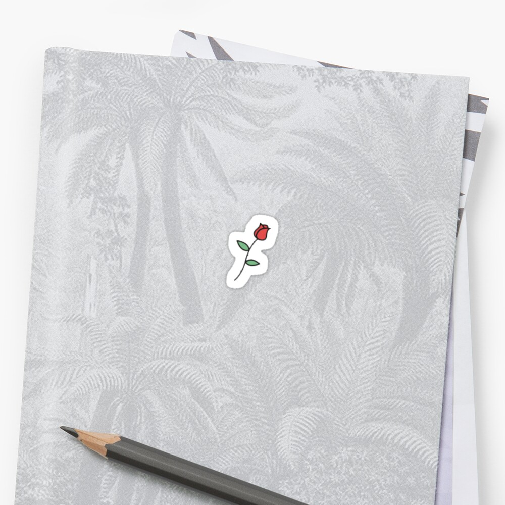 kleine Rose Sticker