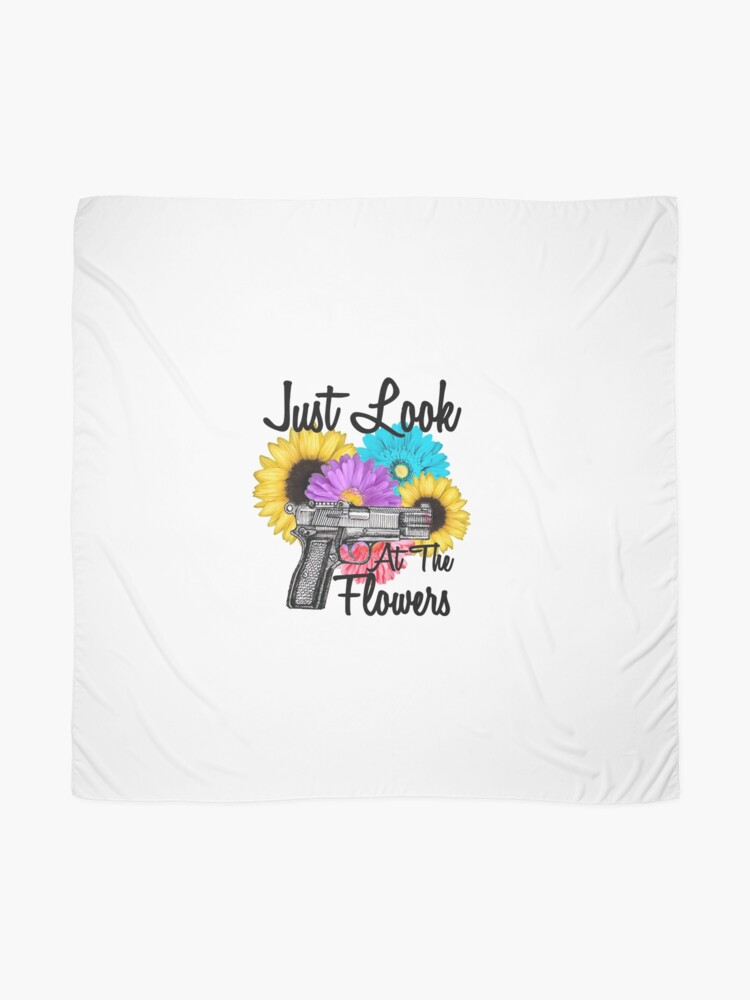 just look at the flowers the walking dead quotes scarf by