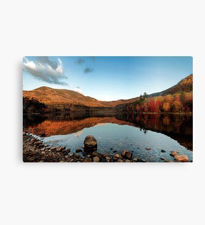 Quiet Autumn Morning - Basin Pond Canvas Print