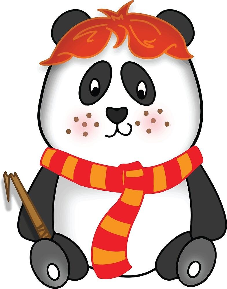 Potter Panda Pal-BFF by Trixielikafox