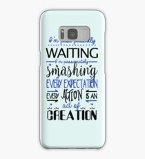 I'm past..Blue. Samsung Galaxy Case/Skin