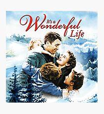 It's a Wonderful Life scene Photographic Print