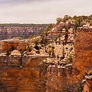 View of the Grand Canyon from the South Rim by Buckwhite