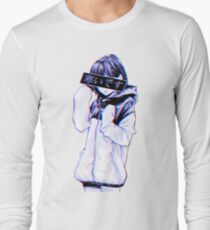 COLD - Sad Japanese Aesthetic Long Sleeve T-Shirt