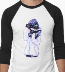 COLD - Sad Japanese Aesthetic Men's Baseball ¾ T-Shirt