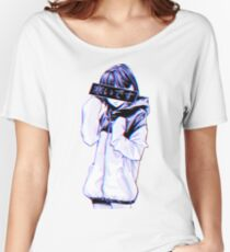 COLD - Sad Japanese Aesthetic Women's Relaxed Fit T-Shirt