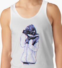 COLD - Sad Japanese Aesthetic Tank Top