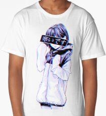 COLD - Sad Japanese Aesthetic Long T-Shirt