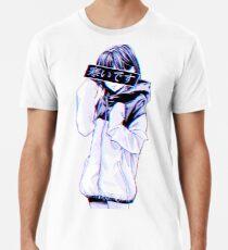COLD - Sad Japanese Aesthetic Men's Premium T-Shirt