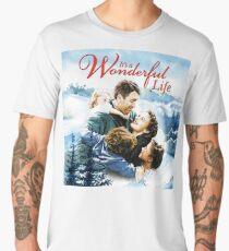 It's a Wonderful Life scene Men's Premium T-Shirt
