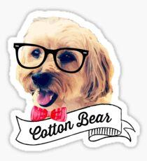 Cotton Bear Sticker