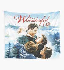 It's a Wonderful Life scene Wall Tapestry