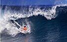 Surfer At Banzai Pipeline 2011.3 by Alex Preiss