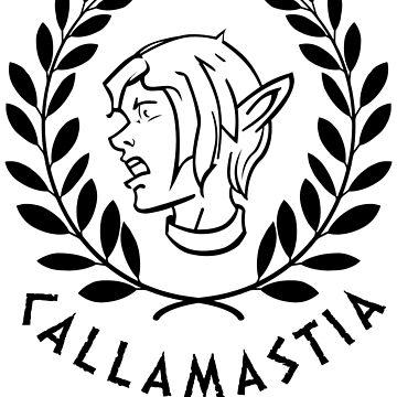 Callamastia - Life is Strange (black) by drmraymond