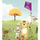 Tiger and Rabbit by erdavid