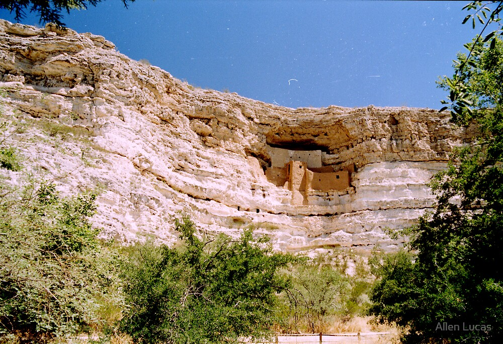Ancient Native Cliff Dwelling by Allen Lucas