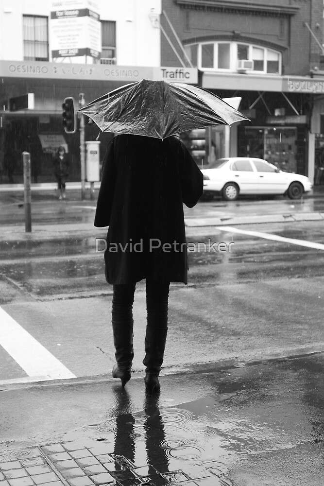 Broken Umbrella by David Petranker
